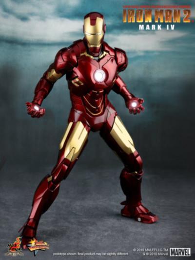 Las armaduras de Iron Man desde la Mark I hasta la Mark VII de The Avengers - Iron-Man-Mark-IV