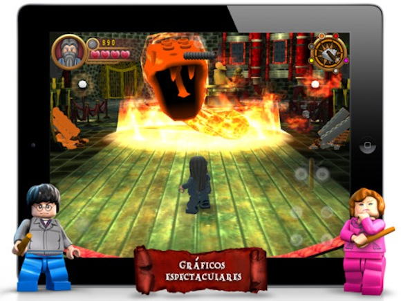 LEGO Harry Potter: Years 5-7 disponible para descargar desde la App Store - LEGO-harry-potter-years-75-7