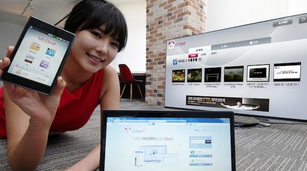 LG Cloud, el servicio en multimedia en la nube de LG - LG-Cloud