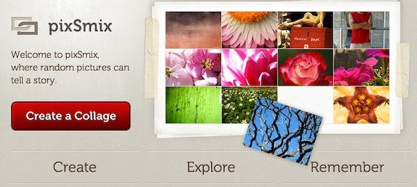 Crea collages según tu estado de ánimo con PixSmix - PixSmix