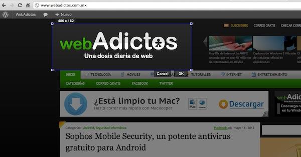 Screen Capture, la extensión oficial para capturar pantalla de Google para Chrome - Screen-capture