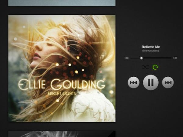 Aplicación de Spotify para iPad por fin disponible para descargar - Spotify-ipad