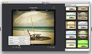 Crear fotos al estilo de Instagram en Mac con Zepheer