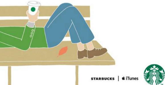 """Starbucks presenta oficialmente en México aplicaciones gratuitas en su popular programa """"Selección de la semana"""" - apple-starbucks-itunes"""