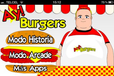 Ay Burgers, divertido juego de cocina para iPhone - ay-burger