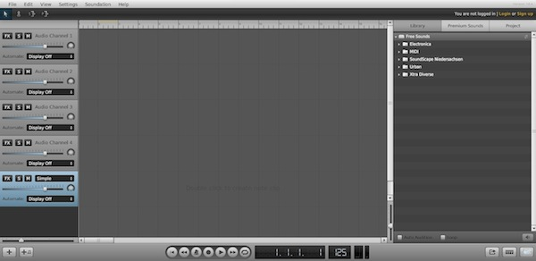 crear musica online soundation Editar y mezclar música con estas aplicaciones online