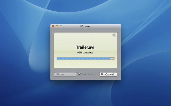 Convertir archivos de audio y video con iConvert para Mac - iConverter