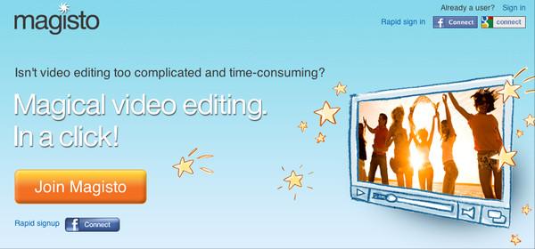 Editar videos online - magisto