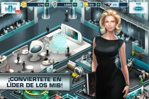 Juego de Men In Black 3 disponible para descargar en iOS y Android
