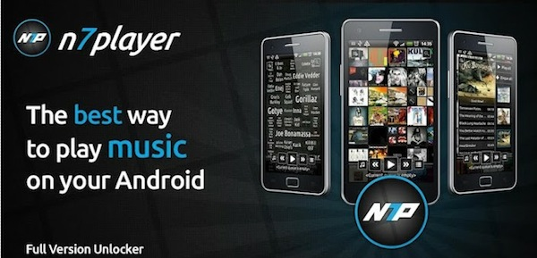 n7player Escuchar música en Android