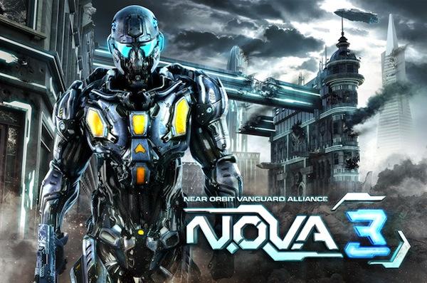 N.O.V.A. 3, uno de los mejores FPS para iOS está de regreso en la App Store - nova3