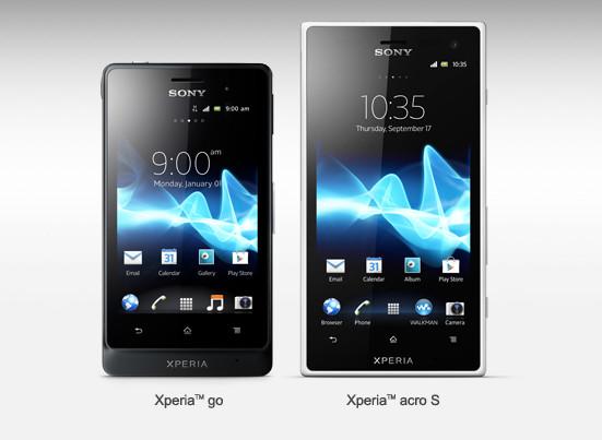 Sony anuncia dos nuevos modelos de Xperia - sony-xperia