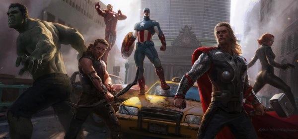 Cámaras Canon de fotografía fueron usadas para filmar algunas escenas de The Avengers - the-avengers-la-pelicula-resena