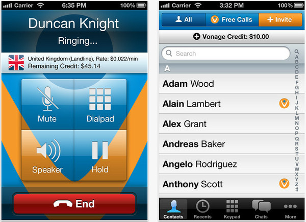 vonange Vonange extiende sus llamadas gratuitas a EU, Canadá y Puerto Rico a través de su app móvil
