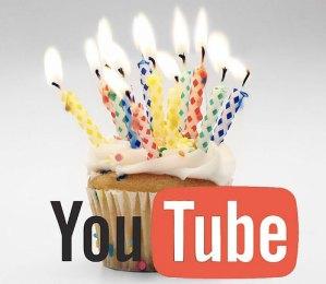 Youtube celebra su 7º año con un nuevo récord de uso
