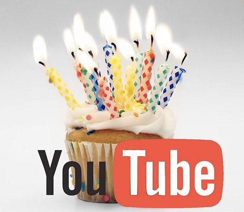 Youtube celebra su 7º año con un nuevo récord de uso - youtube