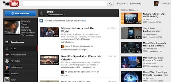 Como activar la nueva interfaz de Youtube en Chrome - Activar-nueva-interfaz-youtube-1