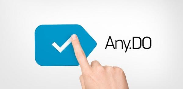 Any.DO, el gestor de tareas multiplataforma definitivo - Any-do