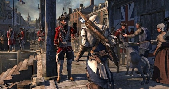 Assassins Creed 3 Se muestra mas gameplay de Assassins Creed 3, ahora el nivel en Boston