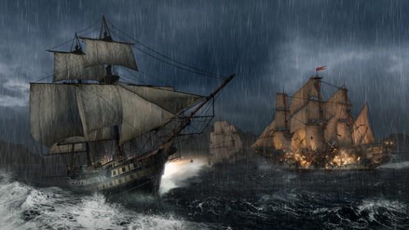 Video de la Batalla Naval en Assassin's Creed III - Assassins-Creed-III-590x332