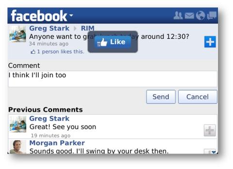 Facebook para BlackBerry se actualiza a la versión 3.1 - BBfacebook-update-2