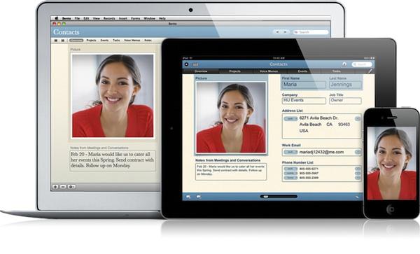 Bento 4 para iPad es presentado por FileMaker - Bento-4-ipad