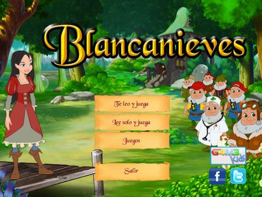 Juego de Blancanieves para iOS es presentado