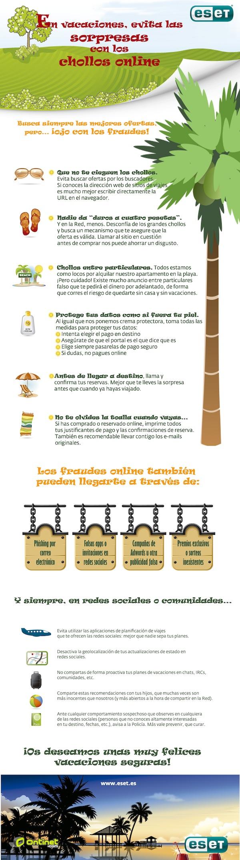 Consejos vacaciones seguras Sencillos consejos para no ser estafados en la web durante las vacaciones [Infografía]