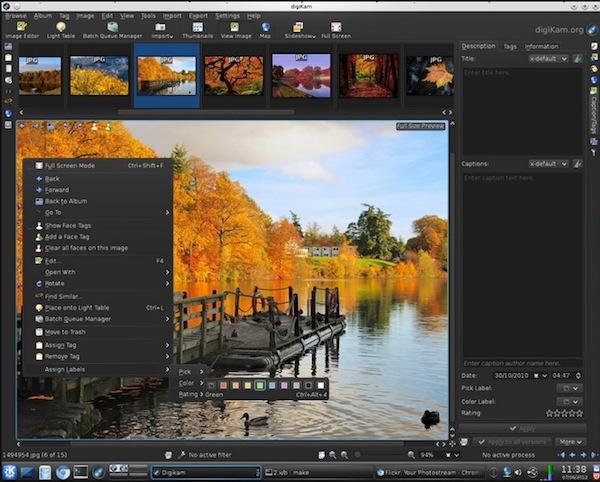 Administrar fotos, 4 programas para hacerlo - Digikam
