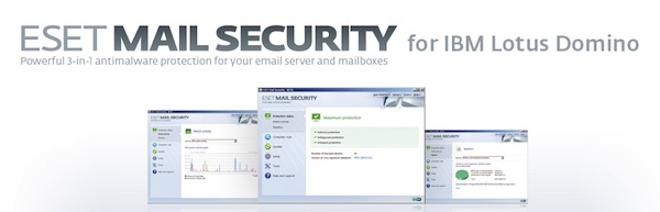 ESET presenta Mail Security para IBM Lotus y File Security para Windows Server Core - ESET-Mail-Security