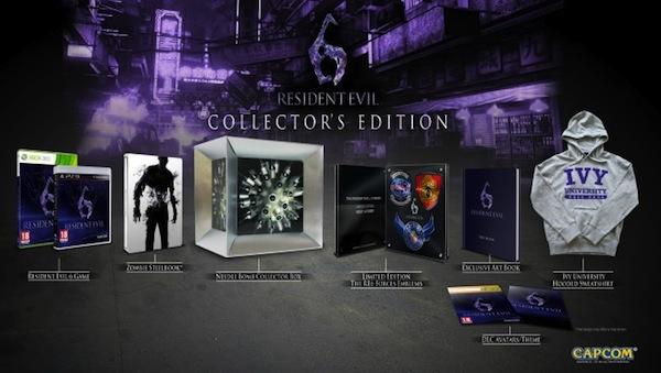 Capcom anuncia la edición de colección de Resident Evil 6 - Edicion-coleccion-RE6