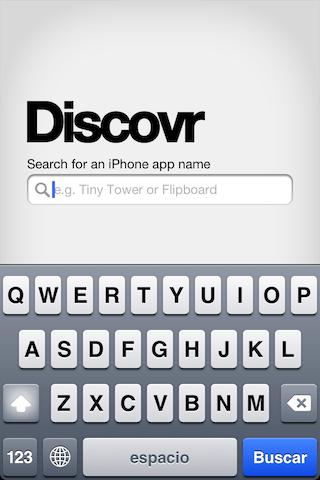 Discovr Apps, una manera muy divertida de encontrar nuevas aplicaciones