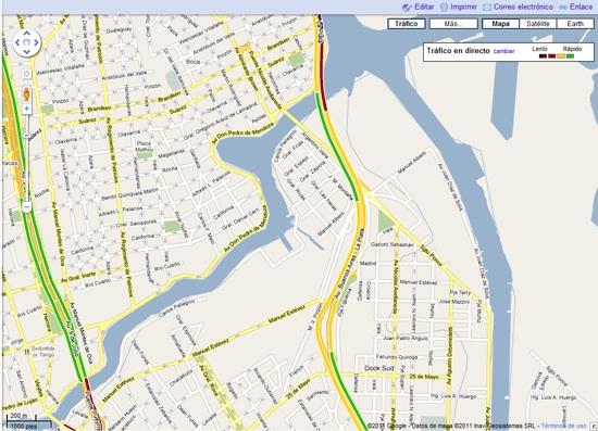 Google anuncia Google Maps con información de tránsito en tiempo real para México, Perú y otros países - Informacion-transito-google