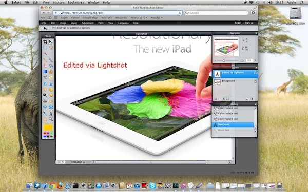 Capturar pantalla en Windows y Mac (Varias Apps) - Lightshot-screenshot
