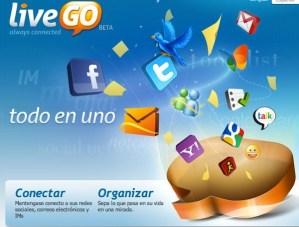 Conectarse a messenger desde la web con LiveGo