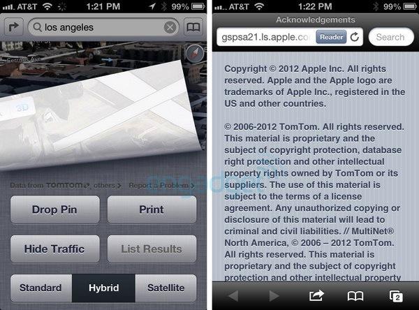 Los Mapas de iOS 6 estarán respaldados por Tom Tom - Mapas-ios-6-tom-tom