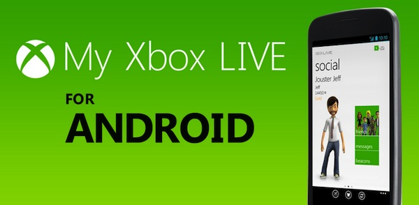 My xbox live android My Xbox Live para Android por fin disponible para descargar