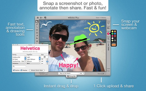 Capturar pantalla en Windows y Mac (Varias Apps) - Skitch-mac-app