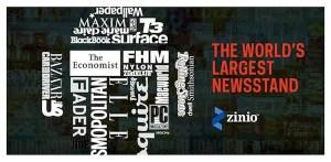Zinio, una genial aplicación para explorar, leer y comprar libros y revistas