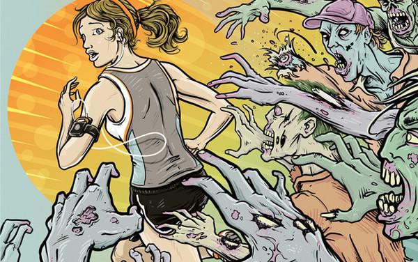 Apps para hacer ejercicio con tu smartphone - Zombies-2