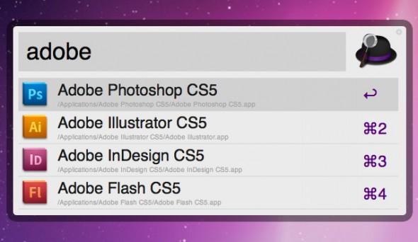 Apps para realizar búsquedas rápidas o lanzar aplicaciones en nuestra Mac - applicationlauncher-590x342
