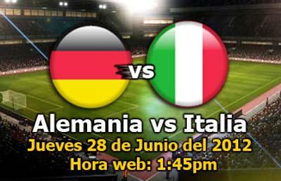 Alemania vs Italia en vivo - en-vivo