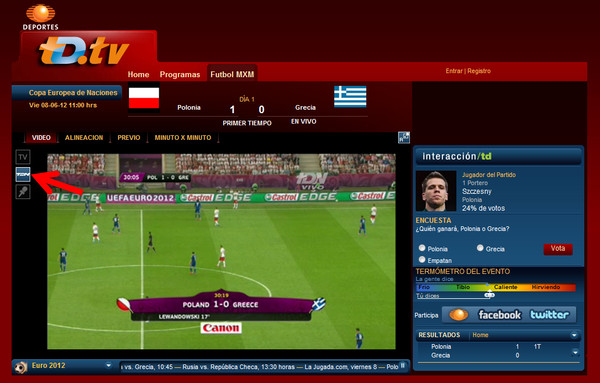 Ver la Eurocopa 2012 en línea - eurocopa-en-vivo