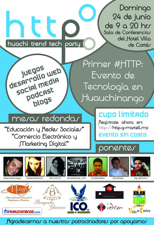 Huachi Trend Tech Party 2012 - evento-tecnologia-huachi-tech-trend-party