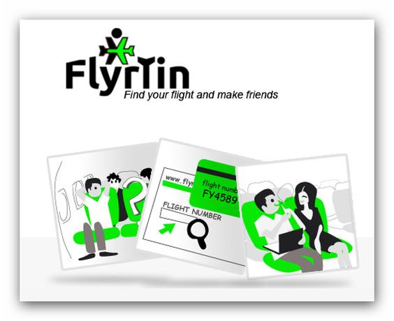 Flyrtin, el servicio web que te ayuda a conocer a tus compañeros de viaje ahora en español - flyrtin-buscador-social-vuelos