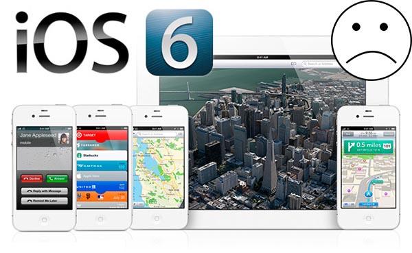 funciones ios 6 Características del nuevo iOS 6 no estarán disponibles en varios modelos
