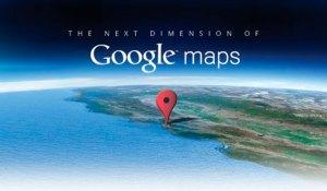 Google presenta un Google Maps de otra dimensión