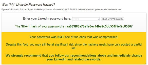Cómo saber si tu contraseña de LinkedIn fue hackeada - linked-in-password