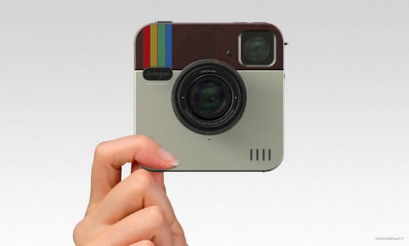 El servicio de Instagram se ve afectado trás tormentas eléctricas - trecool-Instagram-Socialmatic-Camera-01-590x356