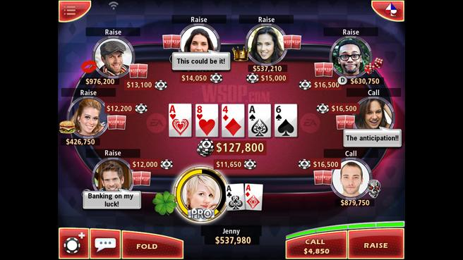 Juego de Word Series of Poker para móviles es presentado por EA - world-series-of-poker-ipad-screen01_656x369